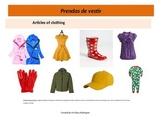 Clothing in Spanish