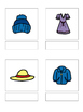 Clothing - matching book, flash cards and more!!