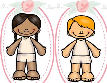 Mandarin Clothing unit game--- dress up my little sister/brother 1 给弟弟妹妹穿衣服游戏 1
