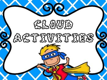 Cloud Activities {Finder Frame, Model Flapbook and Observa