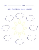 Cloud Brainstorming Graphic Organizer