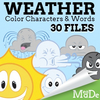 Cloud Clipart - Weather and Words
