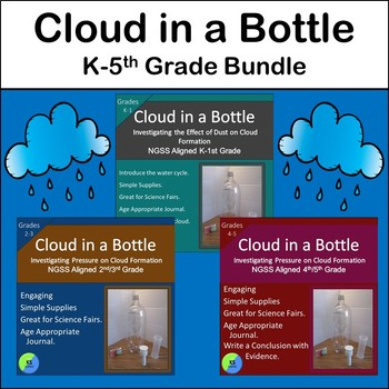 Cloud Experiment Bundle:  Create a Cloud in a Bottle with