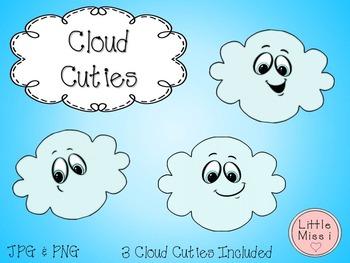 Cloud Cuties Clipart