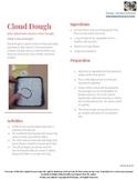 Cloud Dough Recipe with activity ideas