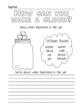 Cloud Experiment {Freebie}