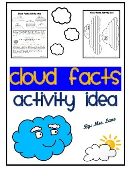Cloud Facts Activity Idea
