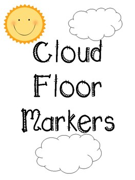 Cloud Floor Markers