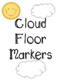 Cloud Floor Markers