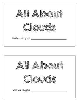 Cloud Forecasting and Water Cycle Mini-Books