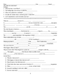 Cloud Formation Guided Notes Word Doc