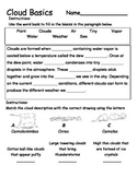Cloud Formation and Types - Introduction Activity