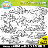 Cloud Formations Clipart Set {Zip-A-Dee-Doo-Dah Designs}