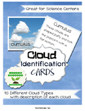 Cloud Identification Cards (Types of clouds)