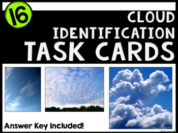 Cloud Identification Task Cards