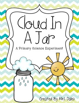 Science Experiment: Cloud In A Jar