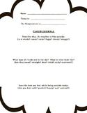 Cloud Journal Worksheet
