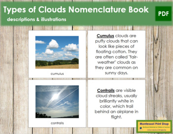 Cloud Nomenclature: Book