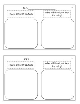 Cloud Observation Journal