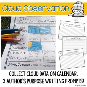 Cloud Observation & Water Cycle {Bundle!}