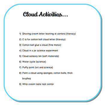 Cloud Observations