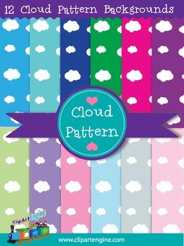 Cloud Pattern Backgrounds