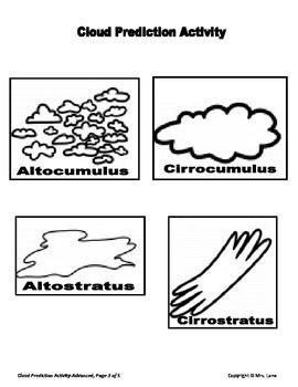 Cloud Prediction Activity