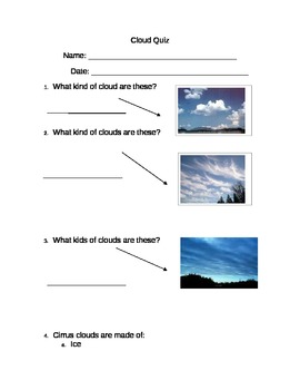 Cloud Quiz
