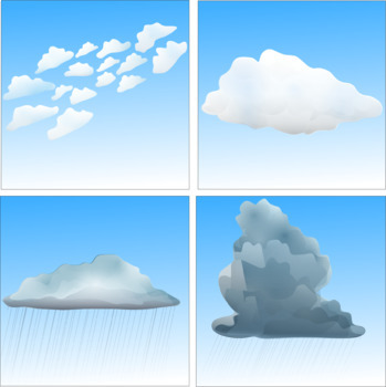 Cloud Science Clip Art