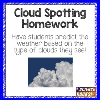 Cloud Spotting Homework