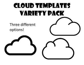 Clouds Color Page Worksheets Teaching Resources Tpt