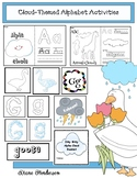 "Cloud-Themed Alphabet Activities Perfect For ""It Looked Li"