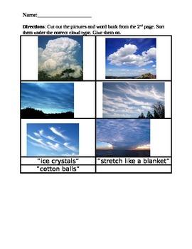 Cloud Type Sort