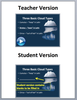 Cloud Types – An In-depth Look - An Advanced Meteorological Lesson