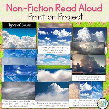 Cloud Types Craft & Non-Fiction Read Aloud