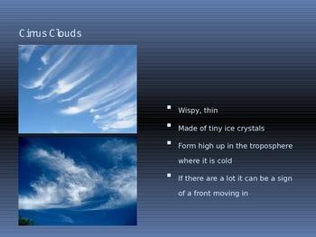 Cloud Types PowerPoint presentation