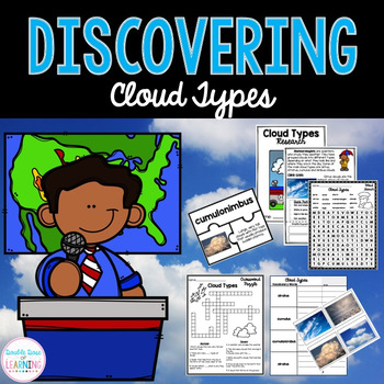 Cloud Types Research Unit with PowerPoint
