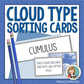Cloud Types Sorting Cards