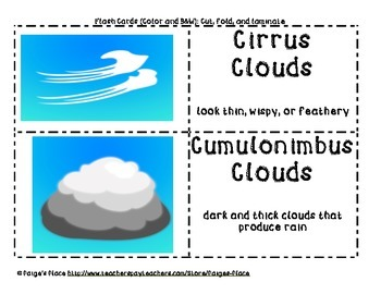 Cloud Types & Weather Tools Pack