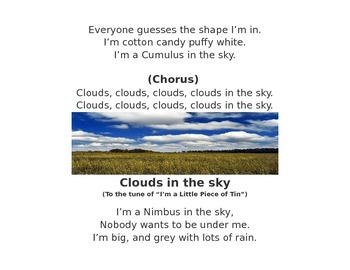 Cloud Types song