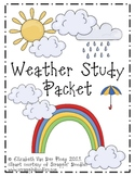 Cloud, Water Cycle & Weather Study Packet