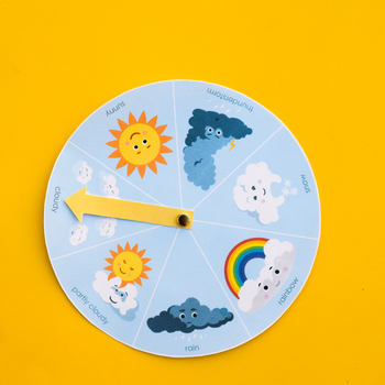Cloud Wheel with Cloud Type Identification Guide for Children