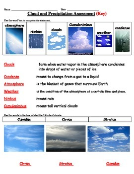 Cloud and Precipitation Assessment - Science