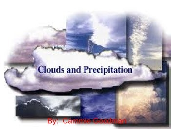 Cloud and Precipitation UNIT 4th Grade Science