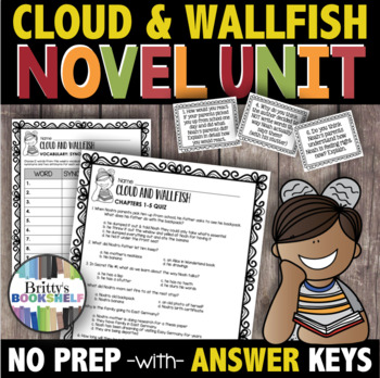Cloud and Wallfish by Anne Nesbet Literature Guide - A Novel Unit