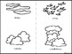 Cloud journal daily log low prep foldable