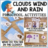 Clouds Wind and Rain Spring Weather Preschool Activity Pack