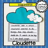 Cloudette Book Companion Write About Reading Craftivity
