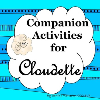 Cloudette - Companion Activities for Speech and Language