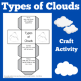 Types of Clouds Worksheet | Activity
